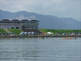 REGATTA FROM THE WATER SURFACE