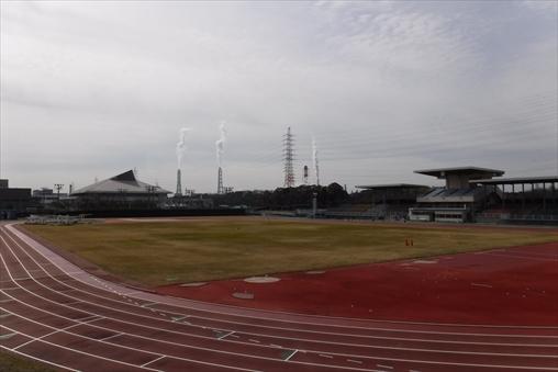 知多運動公園陸上競技場
